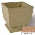 Wausau SL450 Square Outdoor Planter - Weatherstone Sand 24x24x30