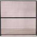 WireCrafters® 840 Style, Woven Wire Panels 8'W x 8'H