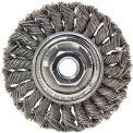 Dualife® Standard Twist Knot Wire Wheels, WEILER 08189