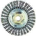 Dualife® Stringer Bead Twist Knot Wire Wheels, WEILER 08756