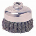 General-Duty Knot Wire Cup Brushes, WEILER 12256