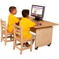 Wood Designs™ Adjustable Height Computer Table