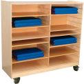 Wood Design Folding Rest Mat Storage Center
