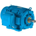 WEG Severe Duty, IEEE 841 Motor, 00112ST3HIE145T-W22, 1 HP, 1200 RPM, 575 Volts, TEFC, 3 PH