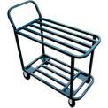 """Winholt® Heavy Duty Stocking & Marking Cart 110 18""""W 2 Shelf"""