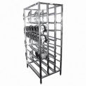 Winholt CR-156F - Can Rack, Capacity 156 #10 Cans, FIFO - Gravity Fed