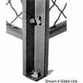 Husky Rack & Wire Angle Corner Post 7' Tall