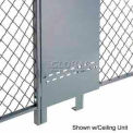 Husky Rack & Wire Fill-A-Gap Panel 8' Tall x 1' Wide