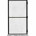 "Matrix Guard Machine Enclosure Swing Door, 3' W x 6' 6"" H"