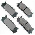 Akebono® Pro-ACT Series Ultra Premium Ceramic Disc Brake Pads - ACT1222