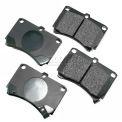 Akebono® Pro-ACT Series Ultra Premium Ceramic Disc Brake Pads - ACT466
