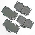 Akebono® Pro-ACT Series Ultra Premium Ceramic Disc Brake Pads - ACT611
