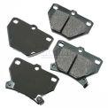 Akebono® Pro-ACT Series Ultra Premium Ceramic Disc Brake Pads - ACT823