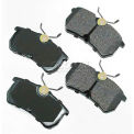 Akebono® Pro-ACT Series Ultra Premium Ceramic Disc Brake Pads - ACT886