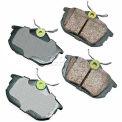 Akebono® Euro Series Ultra Premium Ceramic Disc Brake Pads - EUR838