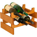 "6 Bottle Dakota™ Wine Rack, Medium Oak, 9-7/8""H"
