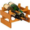 "6 Bottle Dakota™ Wine Rack, Medium Oak, 9-7/8""H"