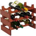 "12 Bottle Dakota™ Wine Rack, Mahogany, 14-1/2""H"