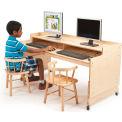 Whitney Brothers Adjustable Computer Desk