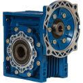 Worldwide Electric CALM50-60/1-56C Aluminum Worm Gear Reducer, 50mm, 60:1, 56C NEMA Frame