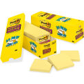 Canary Yellow Super Sticky Notes, 2 x 2, Ten 90-Sheet Pads/Pack