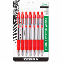 Zebra Z-Grip® Retractable Ballpoint Pen, 1.0mm, Red Ink, 7/Pack - Pkg Qty 6
