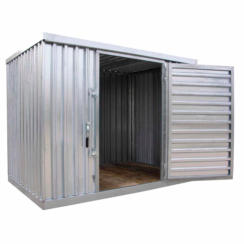 Sheds Metal Galvanized Steel Outdoor