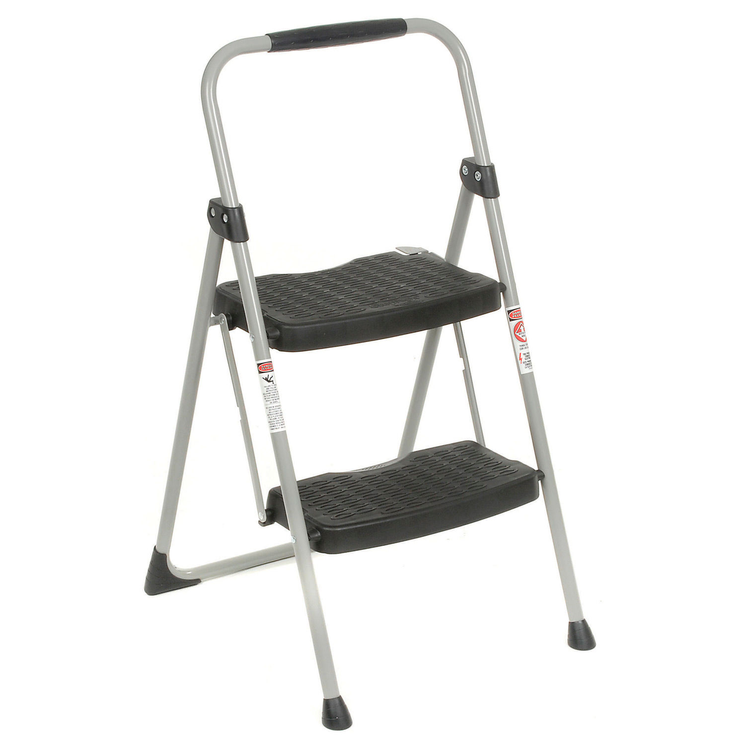 Sensational Ladders Steel Step Ladders Werner 2 Step Steel Folding Creativecarmelina Interior Chair Design Creativecarmelinacom