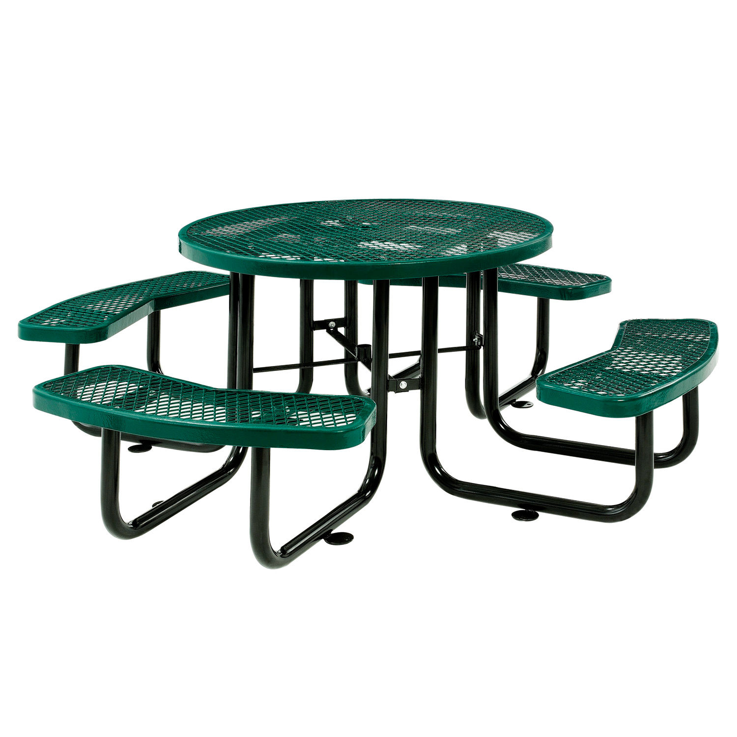 Terrific Benches Picnic Tables Picnic Tables Steel 46Quot Onthecornerstone Fun Painted Chair Ideas Images Onthecornerstoneorg