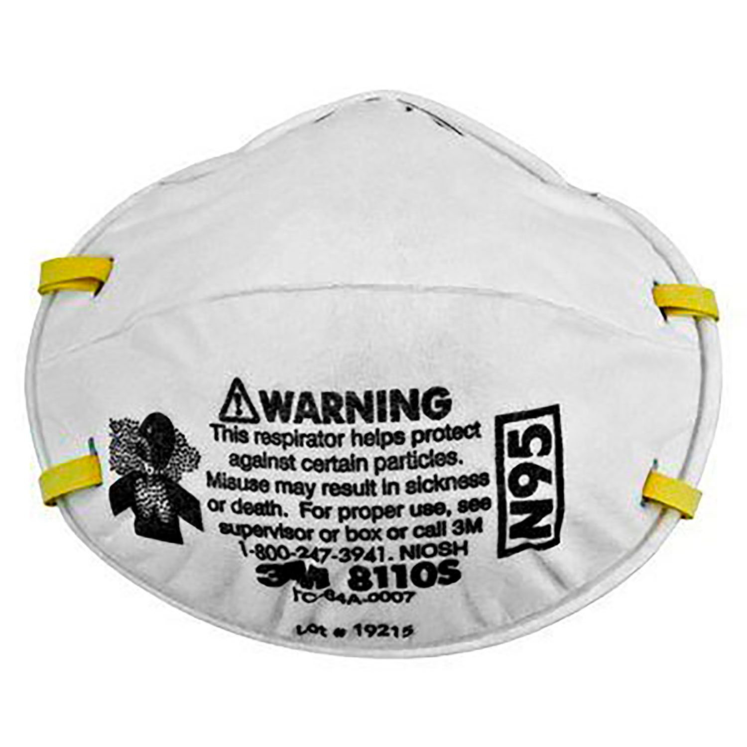 3m™ Protection Respiratory Disposable Respirators 8110s