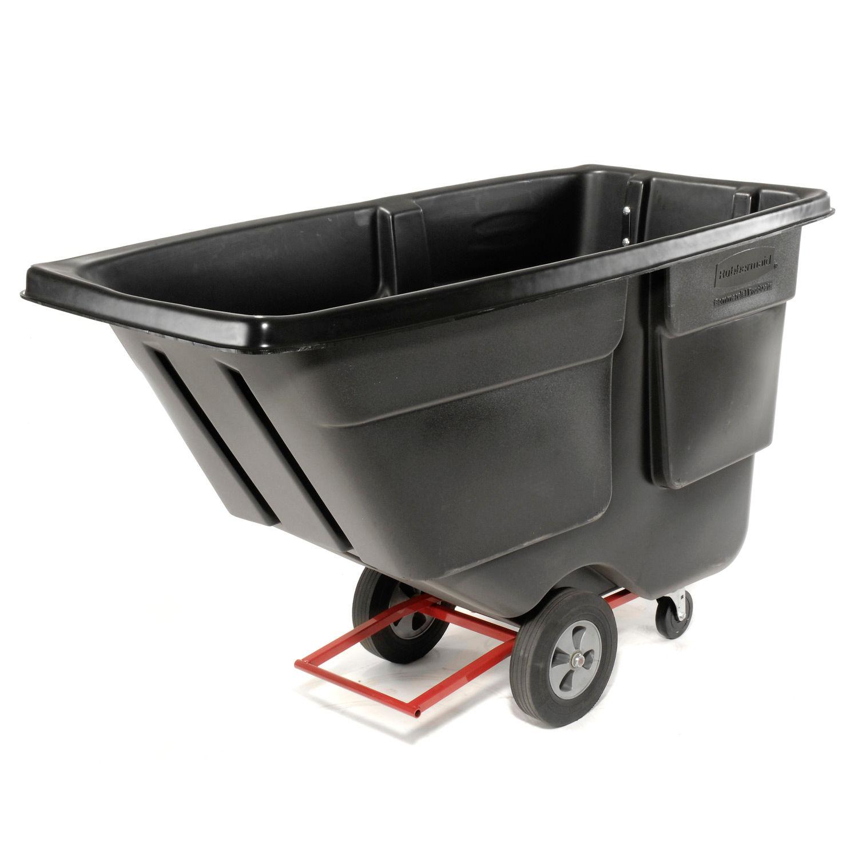8 Wheel /& Hardware for 1 Cubic Yard Standard Duty Tilt Trucks