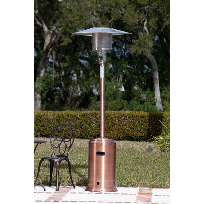 Fire Sense Commercial Propane Patio Heater 60688 - 46000 BTU Copper