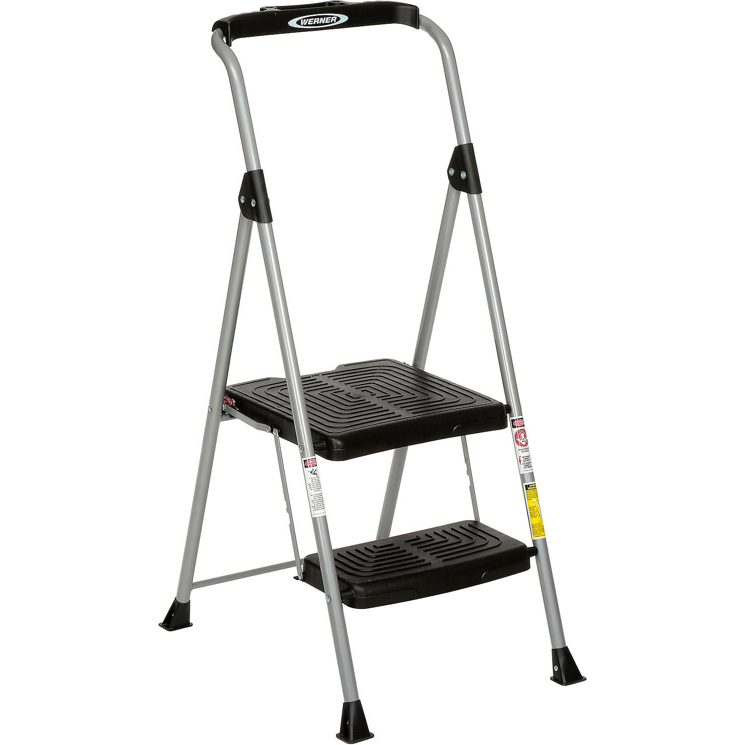 Fabulous Ladders Steel Step Ladders Werner 2 Step Steel Podium Onthecornerstone Fun Painted Chair Ideas Images Onthecornerstoneorg