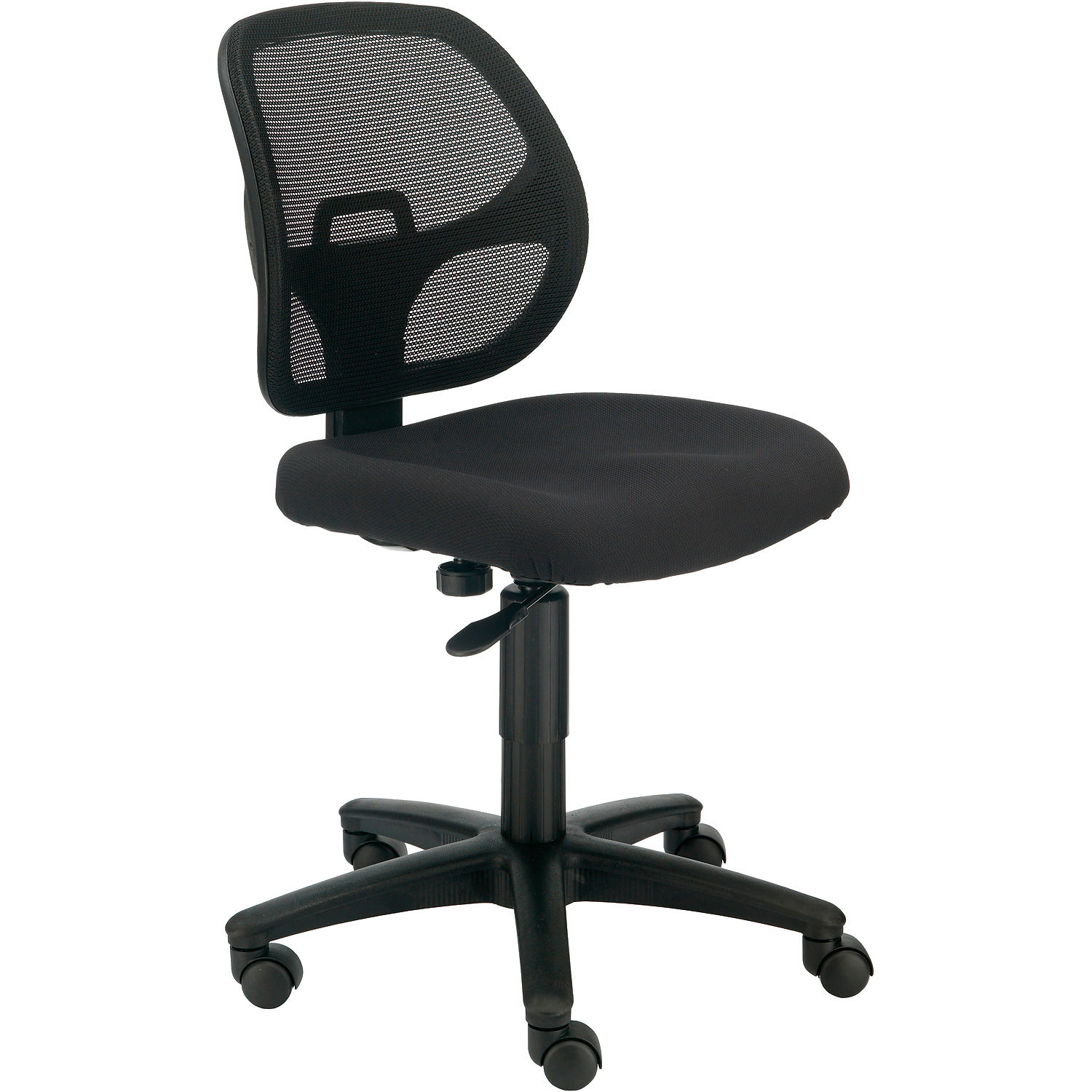 Armless Mesh Office Chair