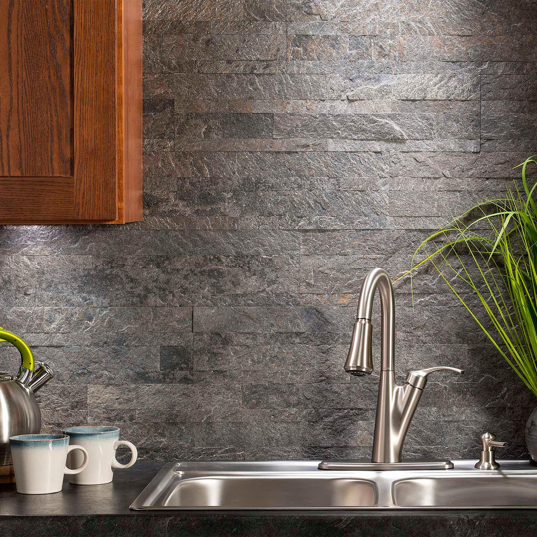 "- Wall Tiles Interlocking Wall Tiles Aspect 23.6"" X"