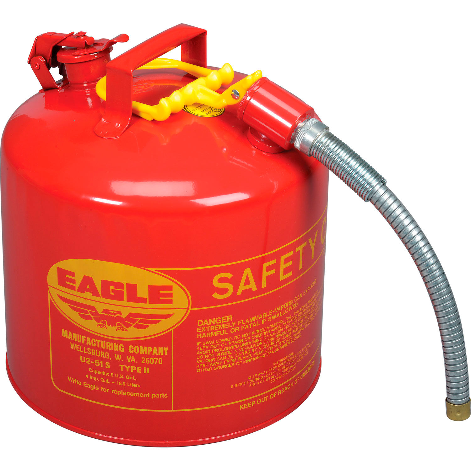 Safety Cans Gas Eagle Type Ii