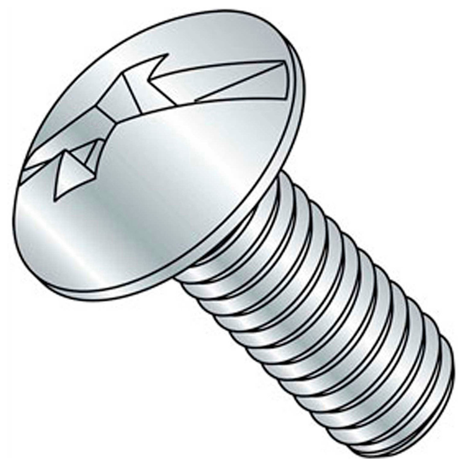 0-80 X 1//4 Slotted Fillister Machine Screw 18-8 Stainless Steel Package Qty 100