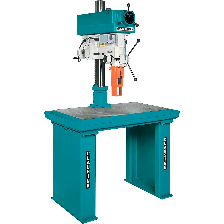 Metalworking Machines - Machinery | Drill Presses | Clausing