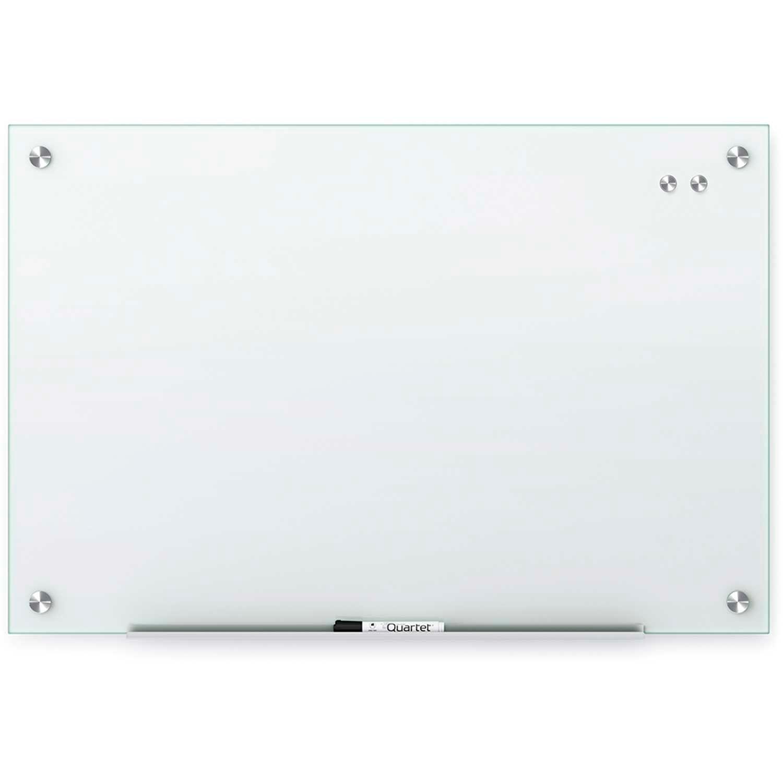 ACCO Quartet Magnetic Glass Dry Erase Board