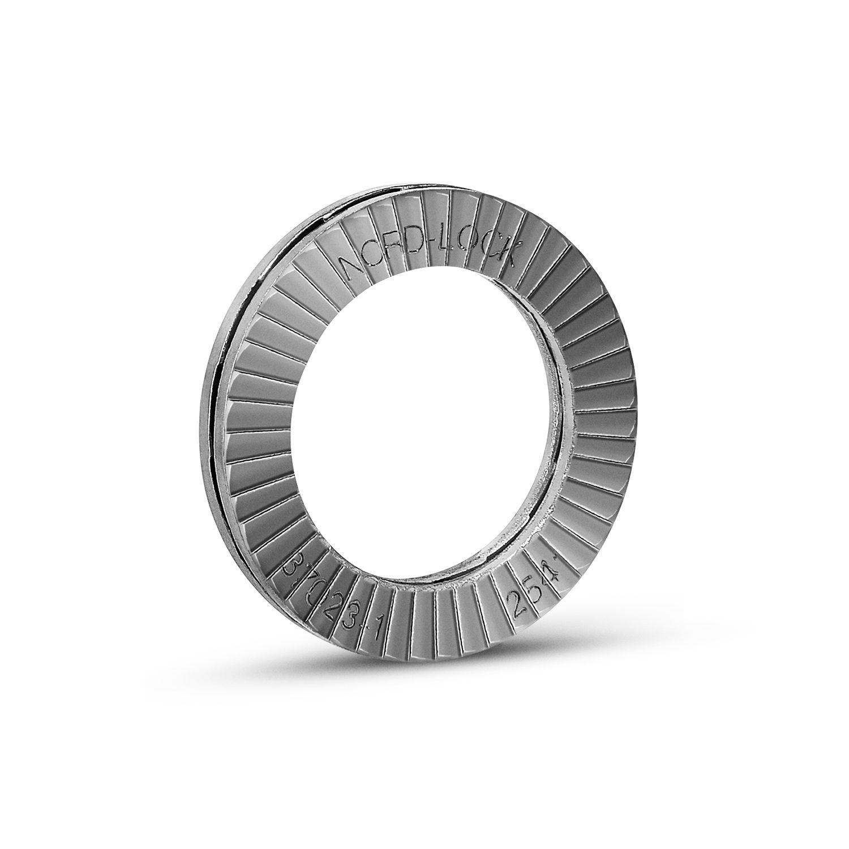 254 SMO Stainless Steel 1-1//4 - Pkg of 50 Nord-Lock 1649 Wedge Locking Washer 1649 M30