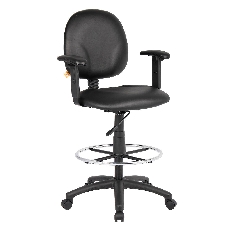 Sensational Stools Vinyl Upholstered Interion174 Drafting Stool Creativecarmelina Interior Chair Design Creativecarmelinacom