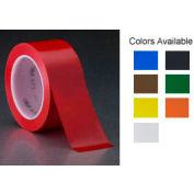 "3m™ Vinyl Tape 471 Red, 1/2"" X 36 Yd - Pkg Qty 72"