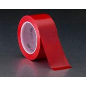 "3m™ Vinyl Tape 471 Red, 2"" X 36 Yd - Pkg Qty 24"
