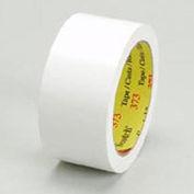 "3M Carton Sealing Tape 373 3"" x 55 Yds 2.5 Mil White - Pkg Qty 24"