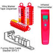 3M™ Furring Strip Cable Stacker SIFS-1, 25 per bag, 250 per case - Pkg Qty 250
