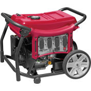 Powermate 10000001785, 8000 Watts, Portable Generator, Gasoline, Electric/Recoil Start, 120/240V