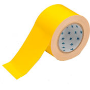 "Brady® 104342 ToughStripe Floor Marking Tape, Polyester, 3""W X 100'L , Yellow"