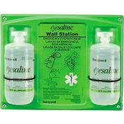 Honeywell Emergency Eye/Face Wash, 32 Oz. Double Bottle Station, 32-000462-0000