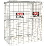 Global Industrial™ Vertical 28 Cylinder Storage Cabinet, Manual Close