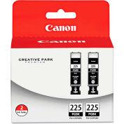 Canon® 4530B007AA (PGI-225) Ink Tank, 38 mL , Black, 2/Pack